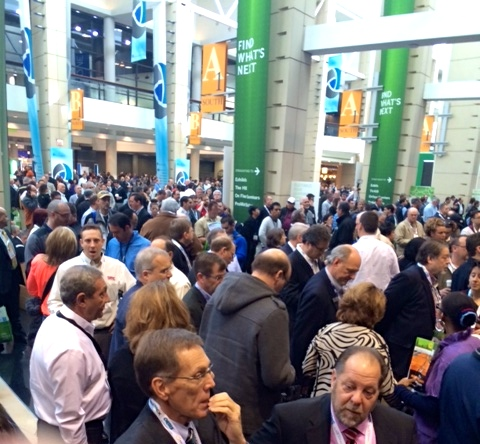 Networking with the #ProMatShow hashtag during the trade event in March generated a lot of interest.