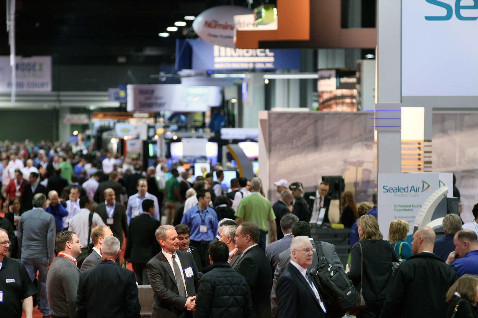 A journalist might visit 50+ exhibits over the course of a trade show.
