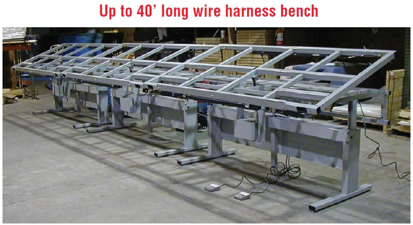 wiring harness assembly table