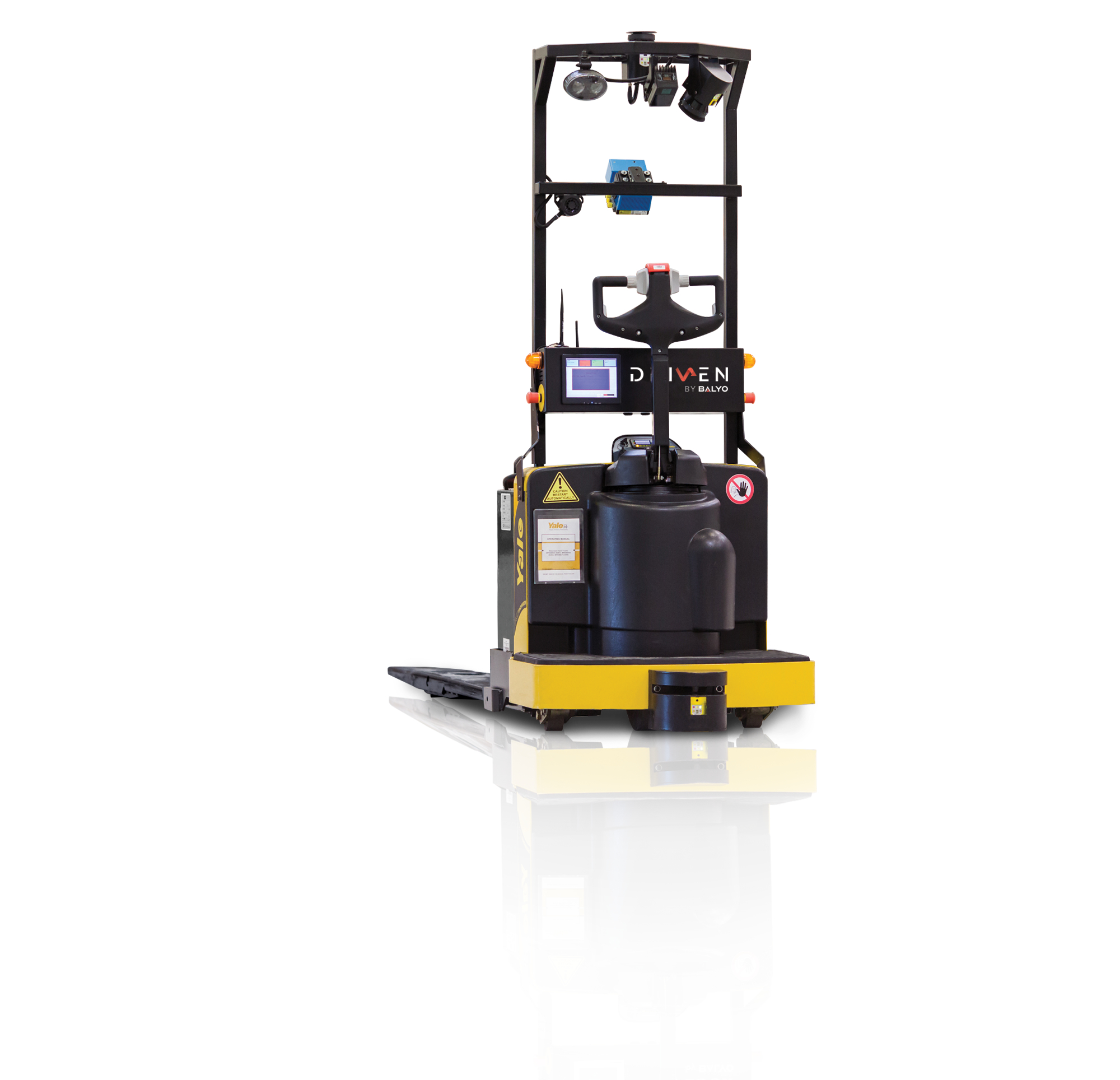Find A Distributor Blog Yale Debuts Robotic Lift Truck Technology at ...