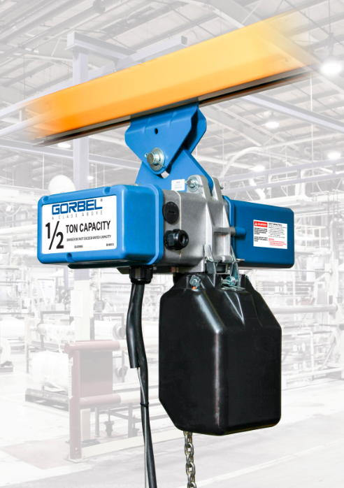 Gorbel Crane Engine Lift : Find a distributor gorbel launches new electric chain