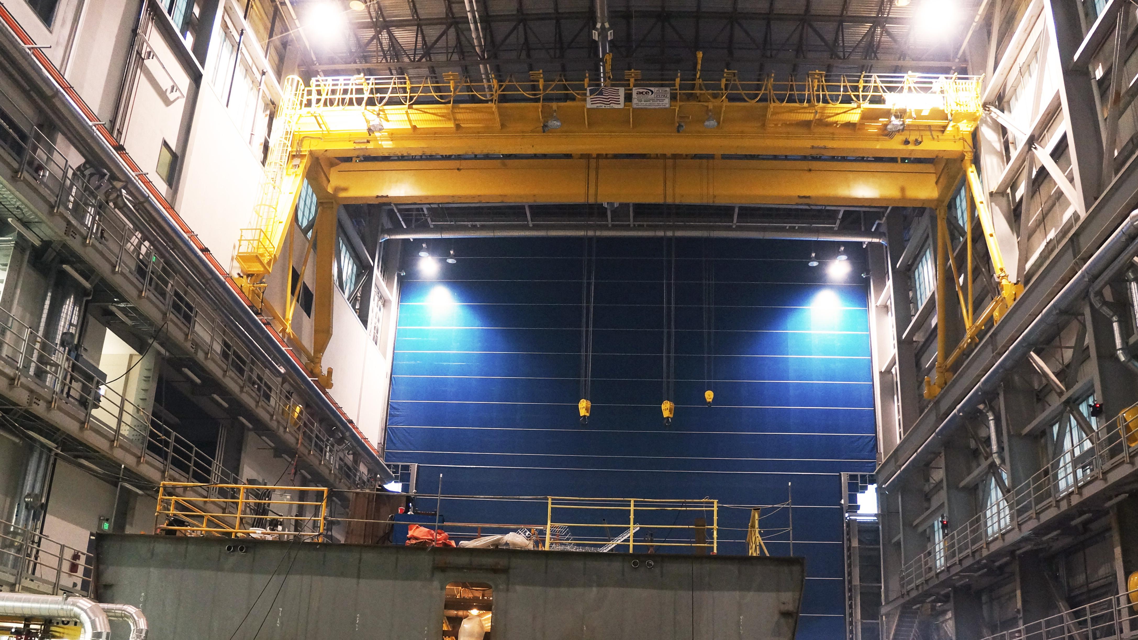 Crane in Shipbuilding facility copy