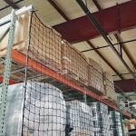 Offset Rack Guard Safety Netting