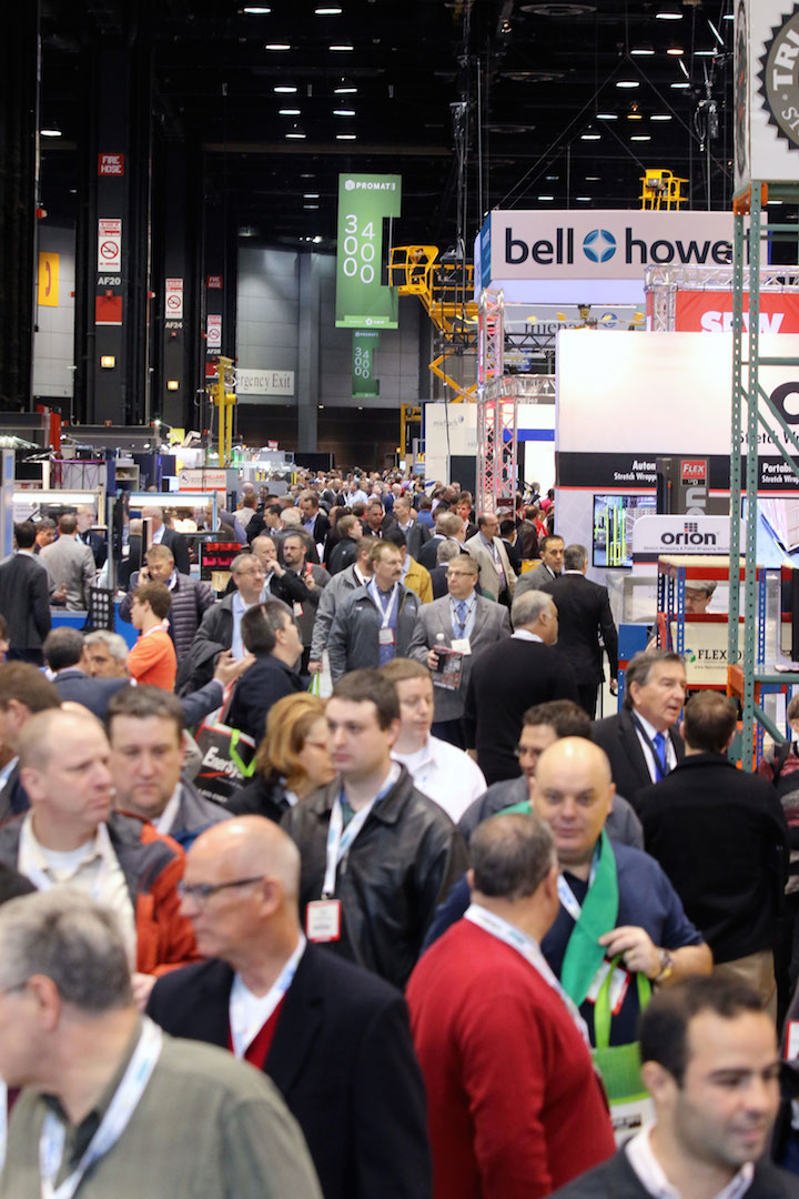 Some exhibitors were better than others at engaging with the media during ProMat last year.