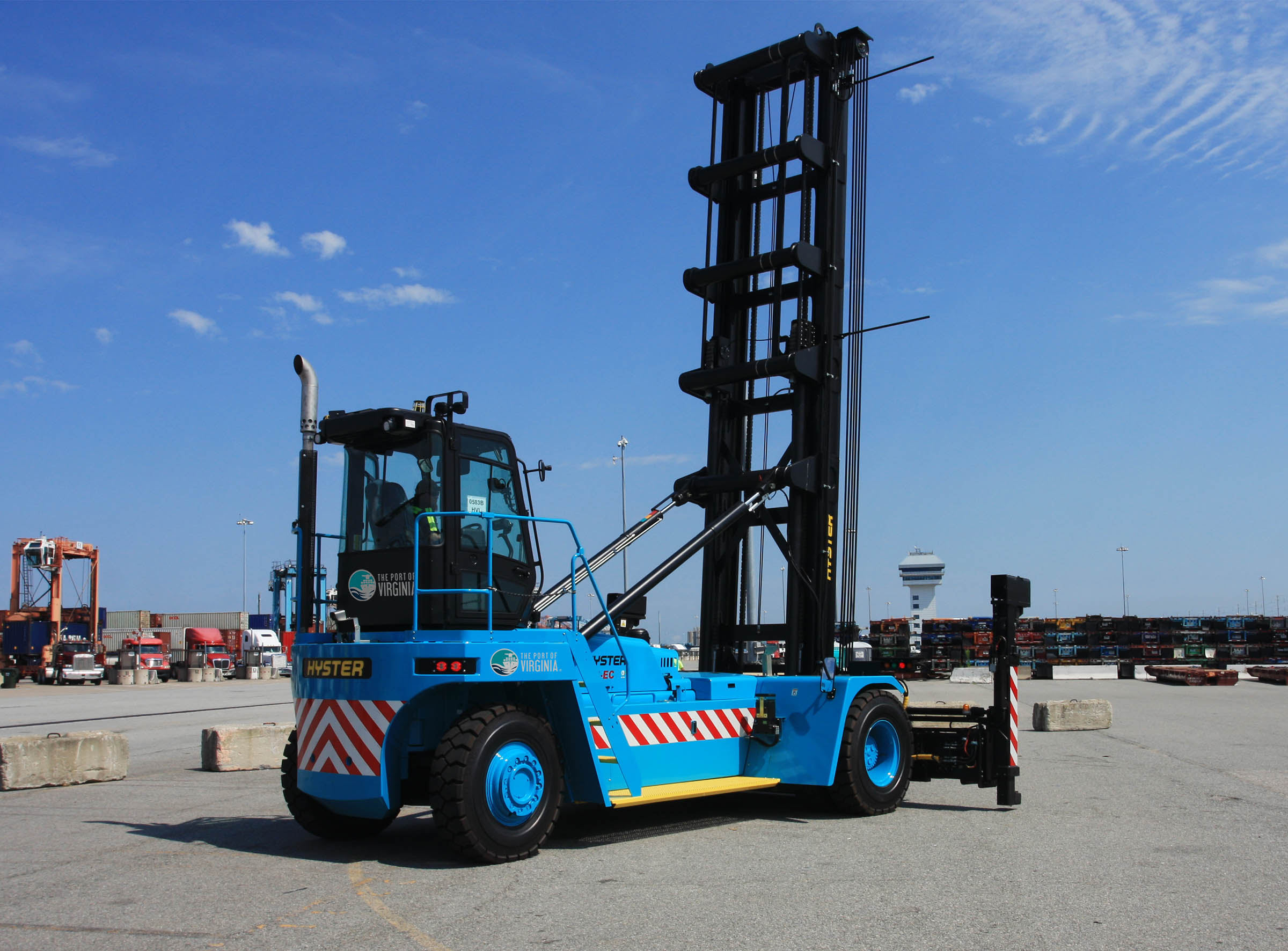 Hyster H450HD-EC empty container handler
