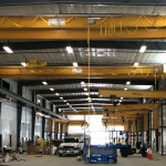 Wall Cantilever cranes with Top Running Doubl Girder Bridge Cranes