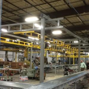 MET-TRACK® Workstation Bridge Crane