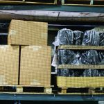 Single Bay Snap-Up Safety Netting for Seismic Zones