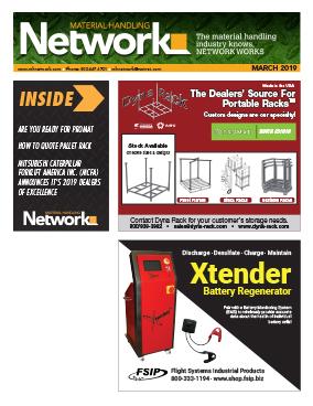 Material Handling, Forklifts, Racks,