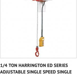 electric chain hoist,