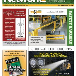 Material Handling Network is a magazine for industrial products used for material handling
