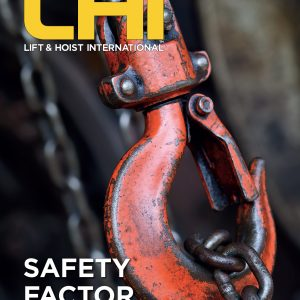 Lift and Hoist International magazine writes about lifting equipment such as overhead cranes and forklift trucks