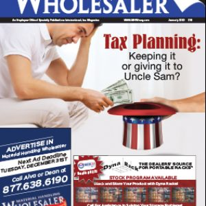 Material Handling Wholesaler is a magazine for the North American material handling industry