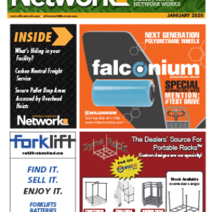 Jan 2020 edition of Material Handling Network magazine