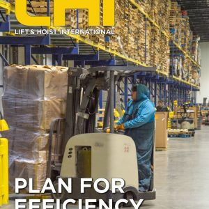 Lift & Hoist International magazine is a trade journal for the industrial lifting community