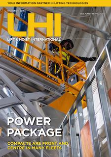 Lift and Hoist International magazine April 2020 edition