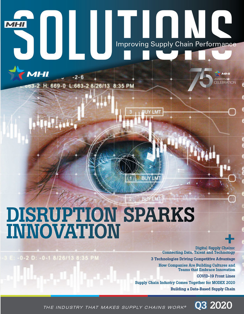 MHI Solutions magazine for the material handling industry