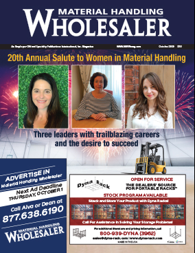 Material Handling Wholesaler is a trade magazine for material handling equipment
