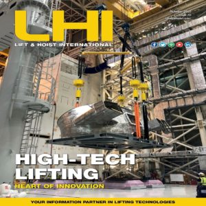 Lift and Hoist International magazine focusses on the overhead lifting industry
