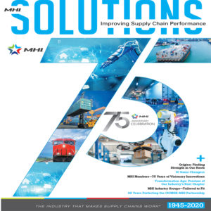 MHI Solutions is a trade magazine for the material handling industry in North America