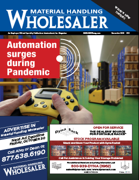 Material Handling Wholesaler is a trade magazine for the material handling industry