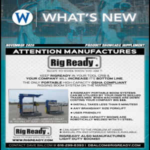 What's new in material handling products and services