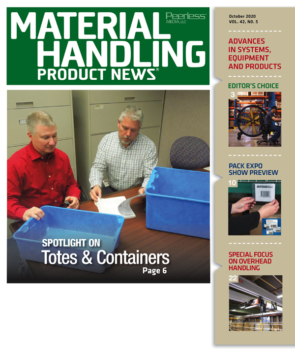 Material Handling Product News is a material handling magazine
