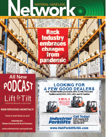 Material Handling Network is a magazine for material handling equipment and warehouse equipment