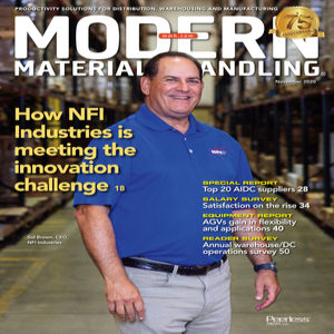 Modern Material Handling is a trade magazine for the material handling industry in America