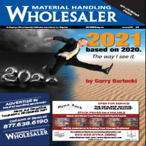 Material Handling Wholesaler is a magazine in the USA for the material handling industry
