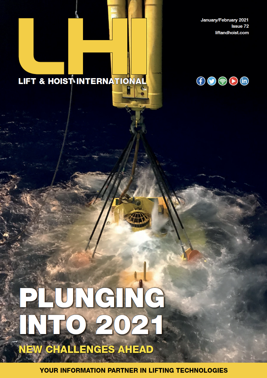 Lift & Hoist International is a trade magazine serving the global overhead crane and lifting equipment industry