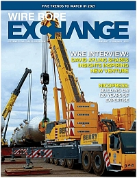 Wire Rope Exchange is a trade magazine for the lifting and rigging industry