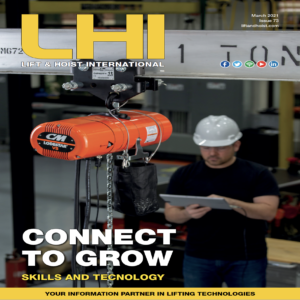 Lift and Hoist International is a magazine about the overhead crane and hoist industry