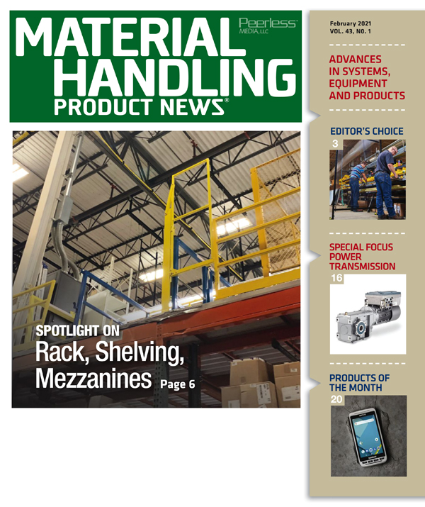 Material Handling Product News is a US based magazine serving the material handling equipment industry