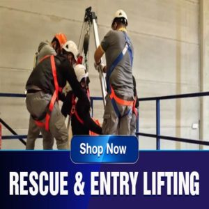 FAD Equipment Store sells reduce and entry lifting equipment used in the utilities industry