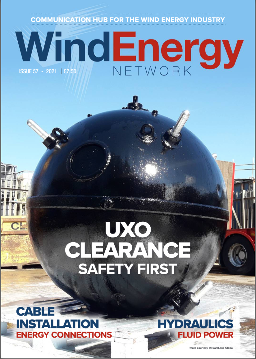 Wind Energy Network is a magazine for the wind energy and renewable energy market