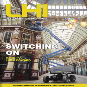 Lift and Hoist International is a trade magazine for the overhead lifting industry