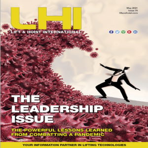 LHI is a trade magazine that focusses on lifting technologies
