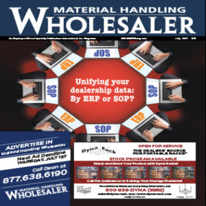 Material Handling Wholesaler is a magazine for the material handling industry and companies like fadequipmentstore.com advertise