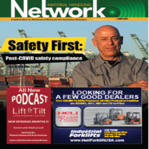 Material Handling Network is a magazine in America for material handling equipment