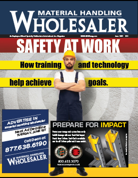 Material Handling Wholesaler is a trade magazine for the material handling industry in the USA and you can see adverts from fadequipmentstore.com