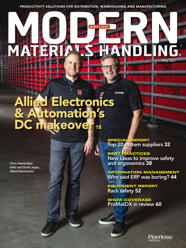 Modern Materials Handling is an industrial trade journal for the materials handling industry in the USA