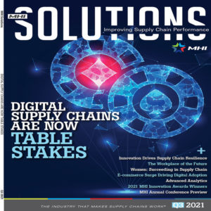 MHI Solutions is a trade magazine published by MHI the material handling association in the USA