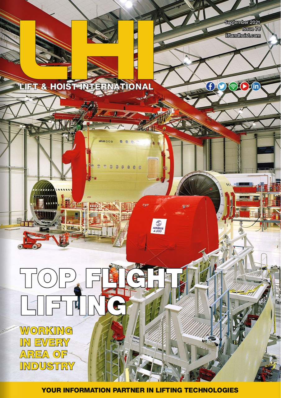 LHI is a trade magazine that writes about lifting technologies