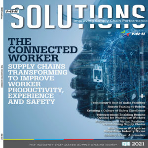 MHI Solutions is a trade magazine published by the material handling association in the USA, MHI Solutions focusses on material handling equipment